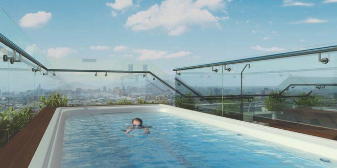 Departamento en Santiago piscina