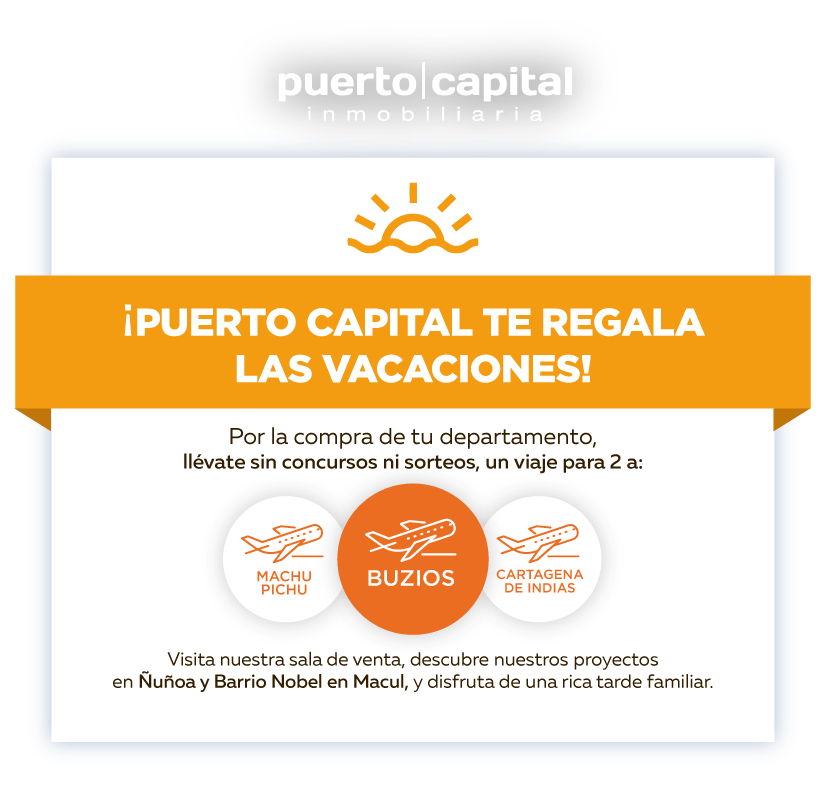 Puerto Capital te regala Vacaciones
